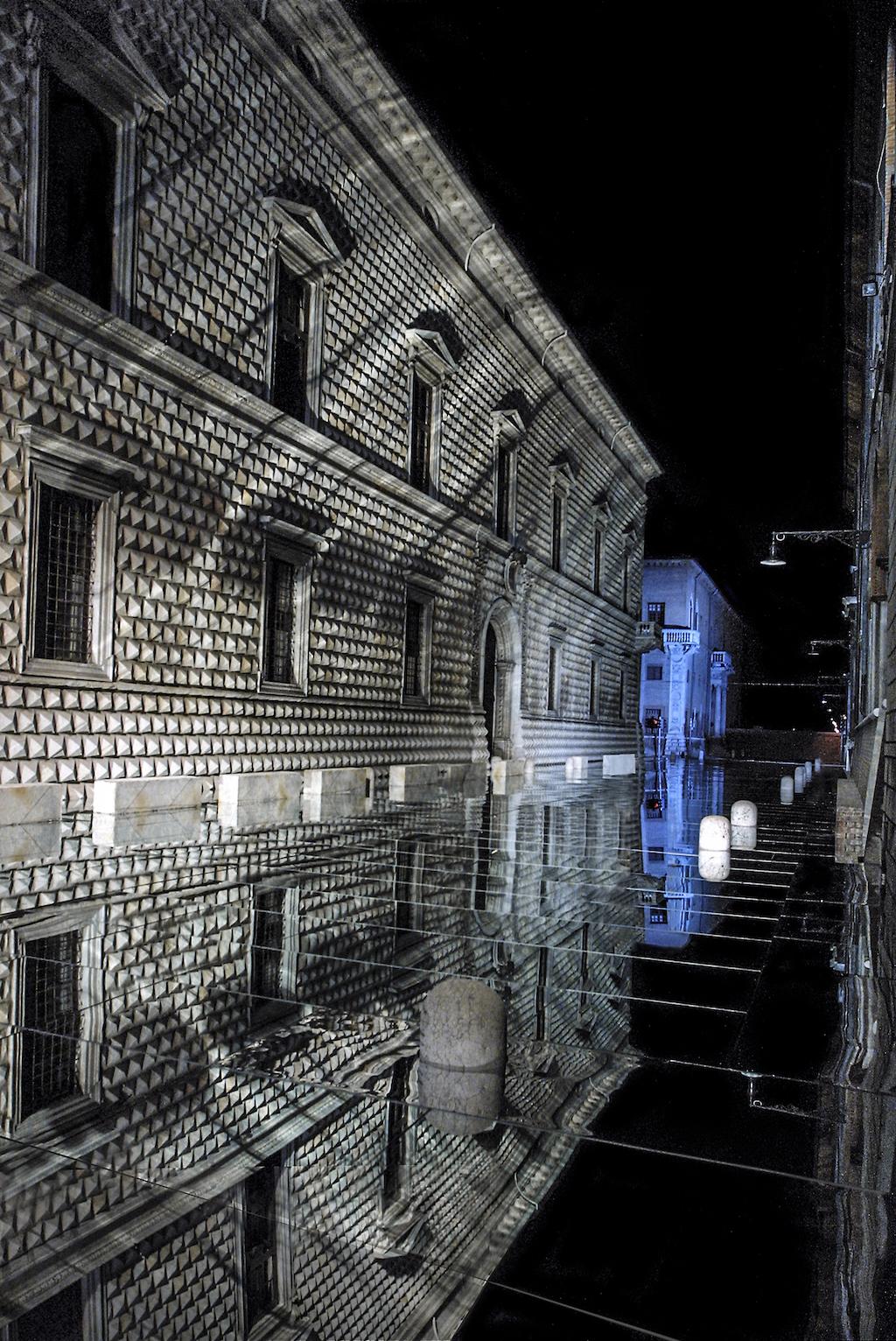 """Luca Ronconi """"Amor nello specchio"""" Ferrara, 2002"""