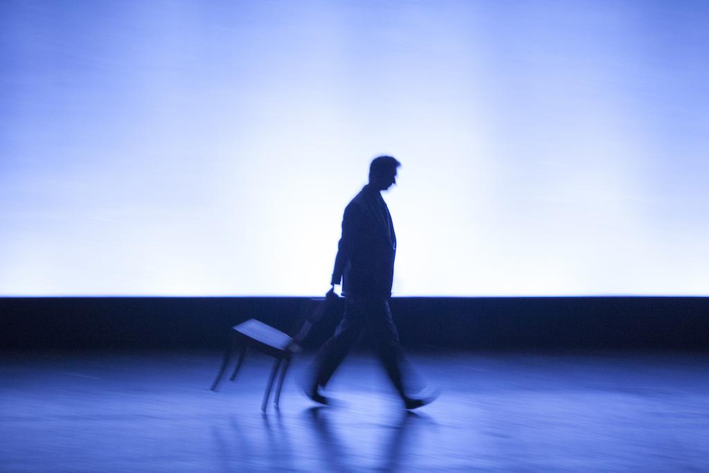 """Fabrizio Gifuni """"L'ingegner Gadda va alla guerra"""" Teatro comunale di Ferrara 2010"""