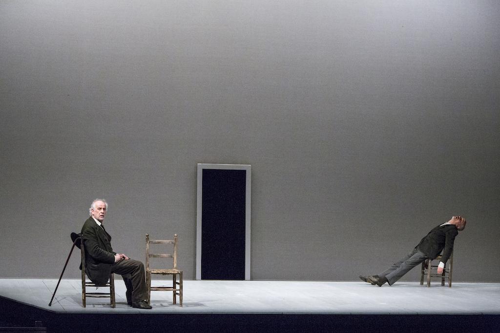 """Toni Servillo  e Peppe Servillo """"Le voci di dentro"""" Ferrara 2014"""