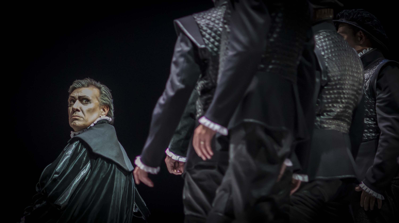 prova generale del 'Torquato Tasso' al Teatro Donizetti