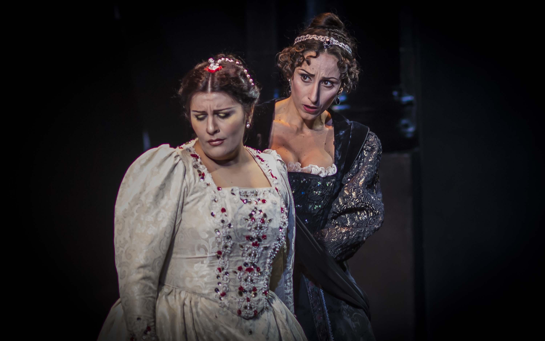 prima del 'Torquato Tasso' al Teatro Donizetti