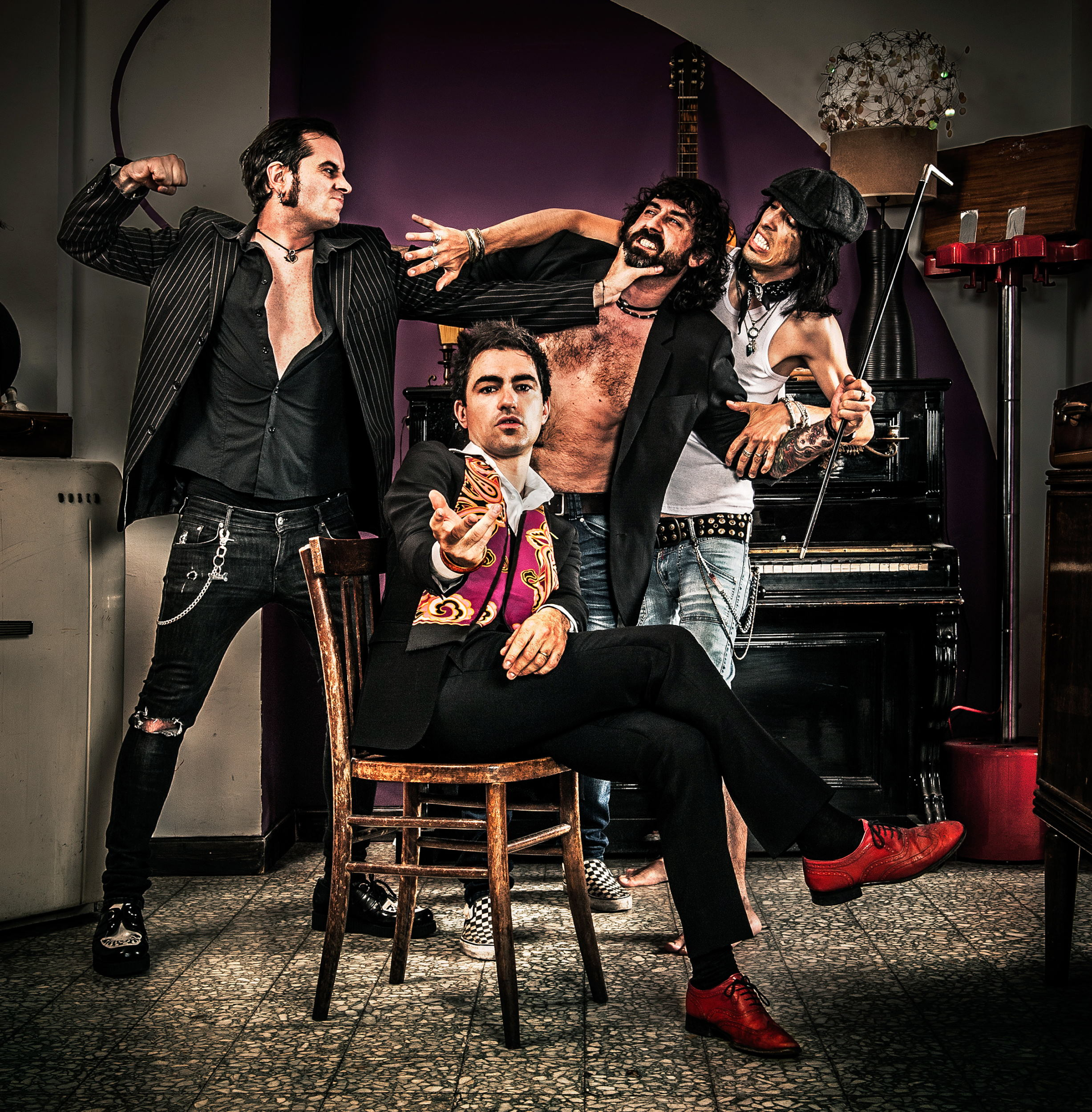 Derelitti-LP Cover